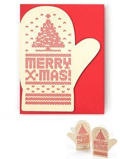 Mitten card from Enormous Champion
