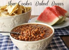 Aleas Slow Cooker Baked Beans - slow cooker
