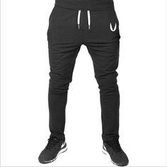 359038e2c233 High quality Men full sportswear Pants Casual Elastic cotton Mens Fitness  Workout Pants skinny Sweatpants Trousers