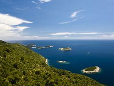 Sail around the Croatian archipelago to take in the tiny, rocky islands that dot the Adriatic Sea.