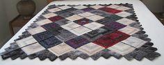 Ravelry: budasue's Mitered Mushishi Blanket