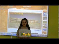 Poesía de Gloria Fuertes. Carla, alumna de 1º de Ed. Primaria del CEIP San Gil (Cuéllar. Segovia)