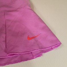 a34d240b46 Nike Dri Fit Womens Athletic Skirt Skort Pink Purple Running Tennis sz  Medium