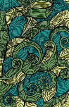 swirl like you mean it : swirl like you mean it pen on paper. Textures Patterns, Print Patterns, Design Tattoo, Pen Art, Zentangle Patterns, Colorful Wallpaper, Art Plastique, Fractal Art, African Art