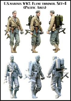 US Marine with flame unit. Now in stock! Click the picture for more details