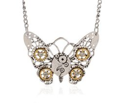 Steampunk Necklaces #gears #info:Average-delivery-time-2-7-days-unless-otherwise-specified #rr_track_steampunk