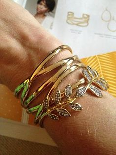 I saw this beautiful Stella & Dot piece and thought of you. Check it out:  Ivie Bangle http://www.stelladot.co.uk/shop/en_gb/p/jewelry/bracelets/ivie-bangle?s=hollystone