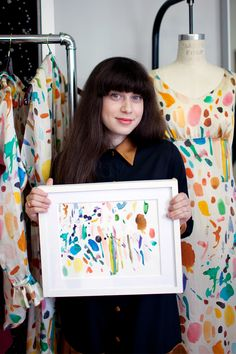 a visit with samantha pleet by calivintage.  fabric dyeing inspiration