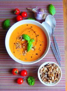 FitnessGuru.sk Gazpacho, Tahini, Cheeseburger Chowder, Soup, Tasty, Lunch, Desserts, Recipes, Diet
