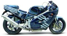 A Norton Motorcycle with a Wankel Rotary engine.