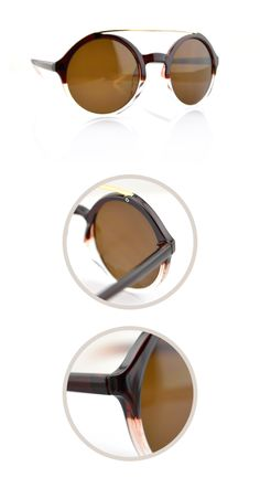#Retro style glasses-Tea color glasses-Round sunglasses-metal bridge glasses #Retro style glasses #Tea color glasses #Round sunglasses #metal bridge glasses -- Visit FUNMEMO.COM
