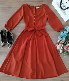 Frock Fashion, Cozy Fashion, Modest Fashion, Fashion Dresses, Parisian Fashion, Bohemian Fashion, Comfortable Fashion, Fashion Fashion, Retro Fashion