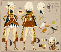 Imagination World : Helper of Traditional Goddess [Temple Custodian]