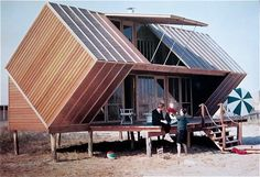 Irwin Hunt House by Andrew Geller - Fire Island, 1959