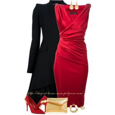 """Christmas Party"" by stay-at-home-mom on Polyvore"