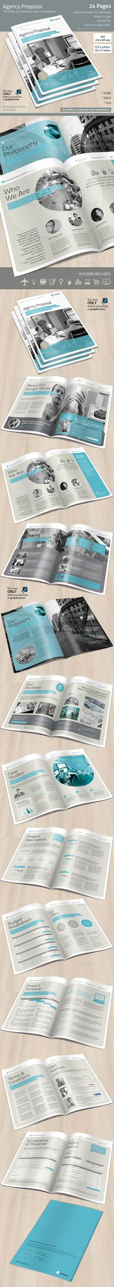 Agency Proposal Template | Download: http://graphicriver.net/item/agency-proposal/8942815?ref=ksioks