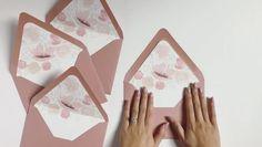 Summer floral envelope liners #weddinginvitations #acrylicinvitations #envelopeliner Acrylic Invitations, Envelope Liners, Wedding Invitations, Thankful, Letters, Awesome, Floral, Summer, Blog