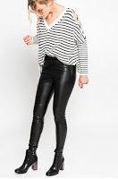PANTALONI-IMITATIE--PIELE-DAMA4 Leather Pants, Fashion, Leather Jogger Pants, Moda, La Mode, Leather Joggers, Fasion, Leather Leggings, Fashion Models
