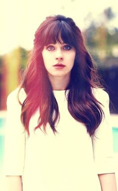 Zooey Deschanel ♥ trying this hair cut today!
