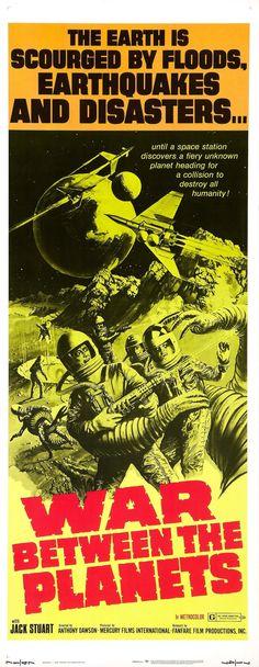 War between the Planets | One Sheet