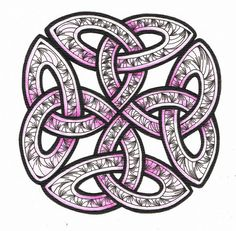 Celtic Knot Doodle 2 by Judy's Creative Doodling, via Flickr