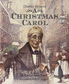 Movies never really capture how truly horrible Ebenezer Scrooge is at the start of this classic.  Love this novella!