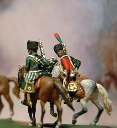 Berline Imperiale, Chasseurs a cheval de la Garde escort of the Emperor