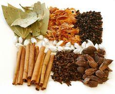 Vervangen van kruiden door bekende of andere kruiden in de Indiase, Chinese en Indonesische keuken