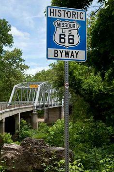Newly restored Devils Elbow Bridge.