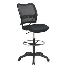 Space Seating Deluxe AirGrid Back Drafting Chair