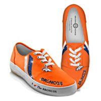 I Love The Denver Broncos Women's Shoes