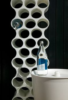 Stojak na butelki i wino Set Up - Koziol od Fabryka Form