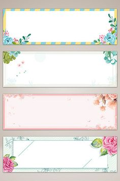 Vintage Flowers Wallpaper, Flower Background Wallpaper, Flower Backgrounds, Journal Stickers, Planner Stickers, Binder Cover Templates, Hand Drawn Flowers, Painted Flowers, Boarders And Frames