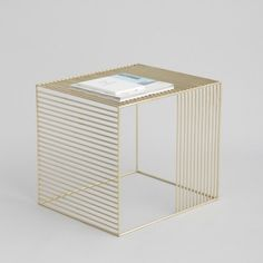 tables -  - iacoli--mc-allister - Wire Side Table, Plated