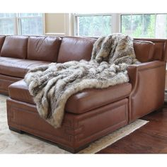Shop for Wild Mannered Luxury Long Hair Faux Fur Lap Throw. Get free shipping at Overstock.com - Your Online Blankets