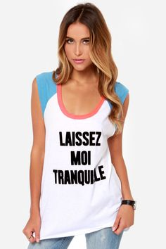 Chaser+Tranquille+Ivory+Tank+Top+at+LuLus.com!