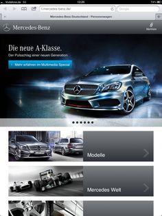 iPad 3: Mercedes-Benz ist der Schärfste.  Wie reagieren die Hersteller mit ihrer mobilen Kommunikation auf den Release des iPad 3, oder wie auch immer Apple das Teil jetzt genannt hat?  Eine spannende Frage für die Marketing-Abeitungen von Anders-Sundt Jensen (Daimler AG), Peter Schwarzenbauer (Audi AG), Dr. Kjell Gruner (Porsche AG) und Dr. Ian Robertson (BMW AG).