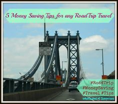 Whirlwind of Surprises: 5 #Money Saving #Tips for any #RoadTrip #Travel