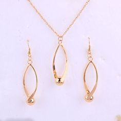 Product Specifics Fine or Fashion:FashionItem Type:Jewelry SetsJewelry Sets Type:Necklace/EarringsStyle:TRENDYMaterial:Cubic ZirconiaOccasion:WeddingIncluded Additional Item DropModel Type:Alloy Gold Necklace, Pendant Necklace, Earring Set, Jewelry Sets, Chokers, Fashion Jewelry, Color, Number, Jewellery