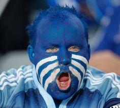 Blues Fan
