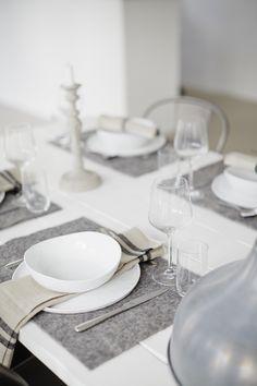 Mesa y Fieltro / Felt Table Deco