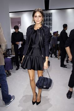 Olivia PALERMO in Black from fashion-fever.nl
