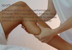 Sports massage.