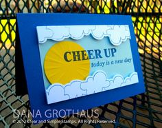 Dana's Dabbling Studio: A {Cheer Up} Card...