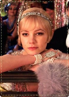 Carey Mulligan's cute bob in The Great Gatsby-1920s Hairstyles