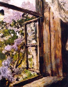 bofransson:  Open Window (study) Valentin Serov - 1886