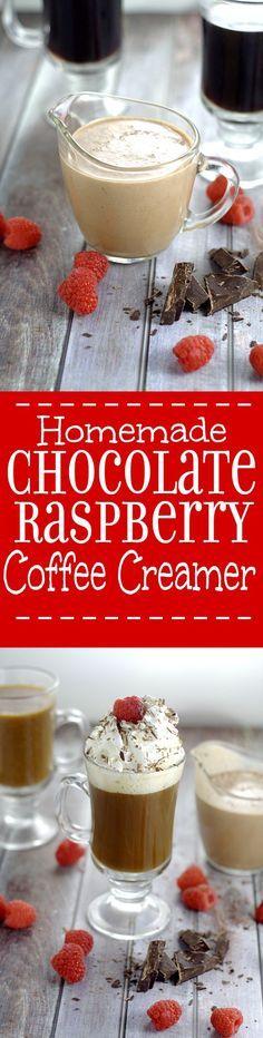 homemade chocolate raspberry coffee creamer rich decadent homemade chocolate raspberry coffee creamer with smooth creamy chocolate and a fruity kick of