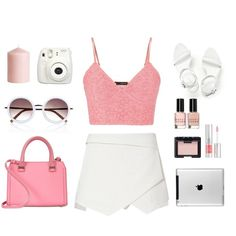 Pre Party by cassie-paps on Polyvore featuring maurices, Alexander Wang, Victoria Beckham, River Island, NARS Cosmetics, Lancôme, Bobbi Brown Cosmetics, H&M, cute and Pink