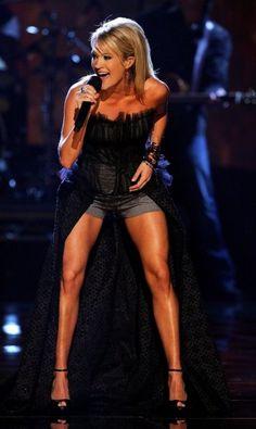 Carrie's legs