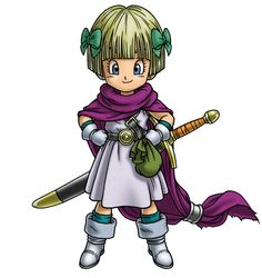 Hero's Daughter Madchen - Characters & Art - Dragon Quest V: Hand of the Heavenly Bride